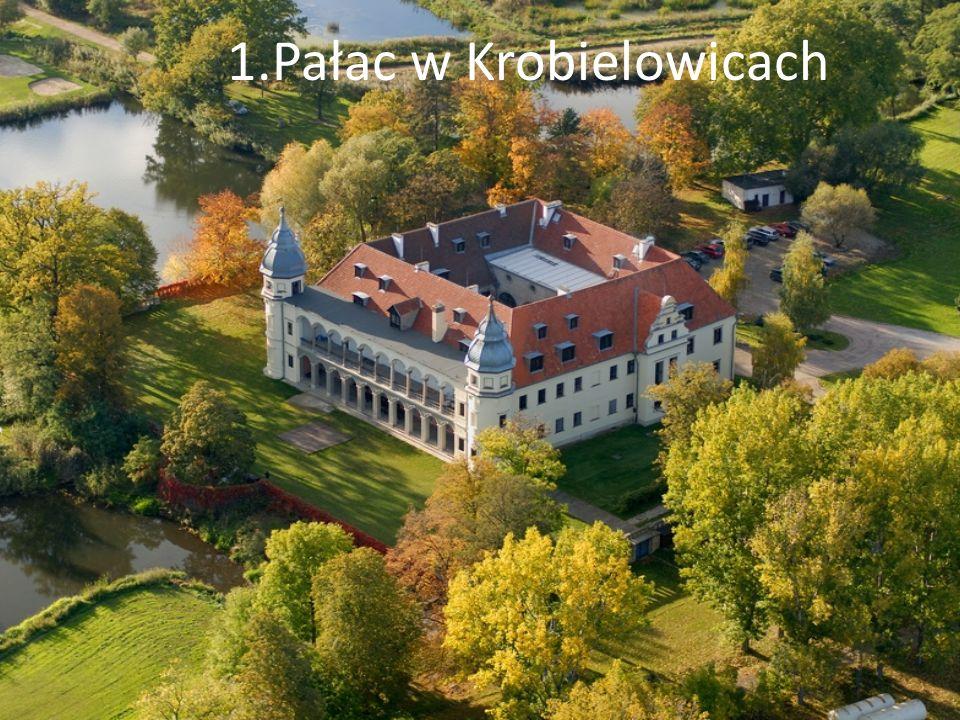1.Pałac w Krobielowicach