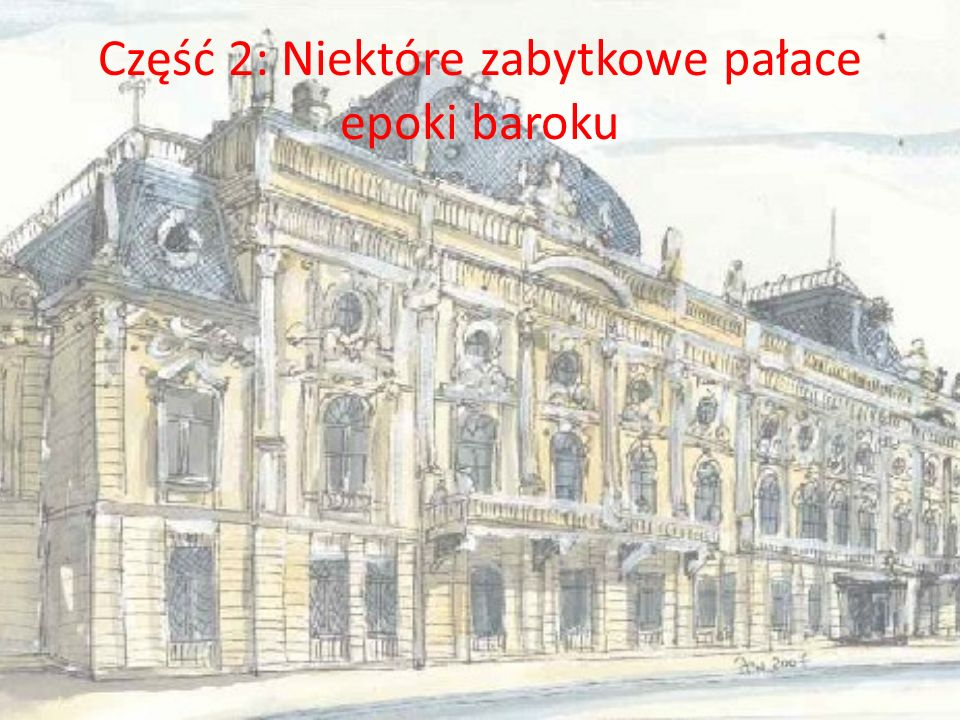 1. Pałac Łosiów w Narolu