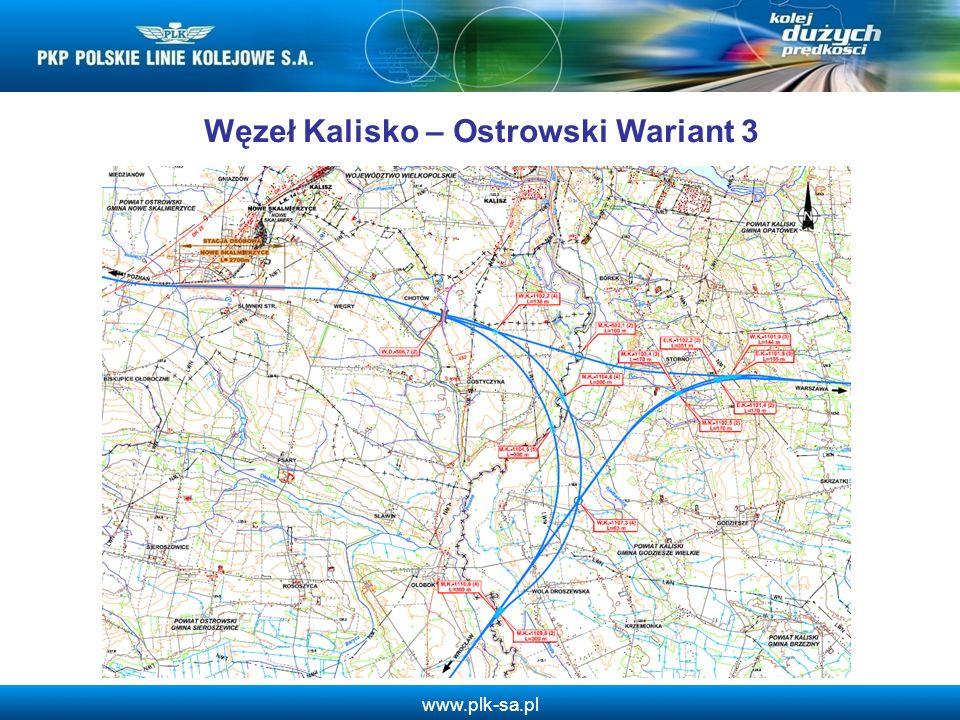 www.plk-sa.pl Węzeł Kalisko – Ostrowski Wariant 3