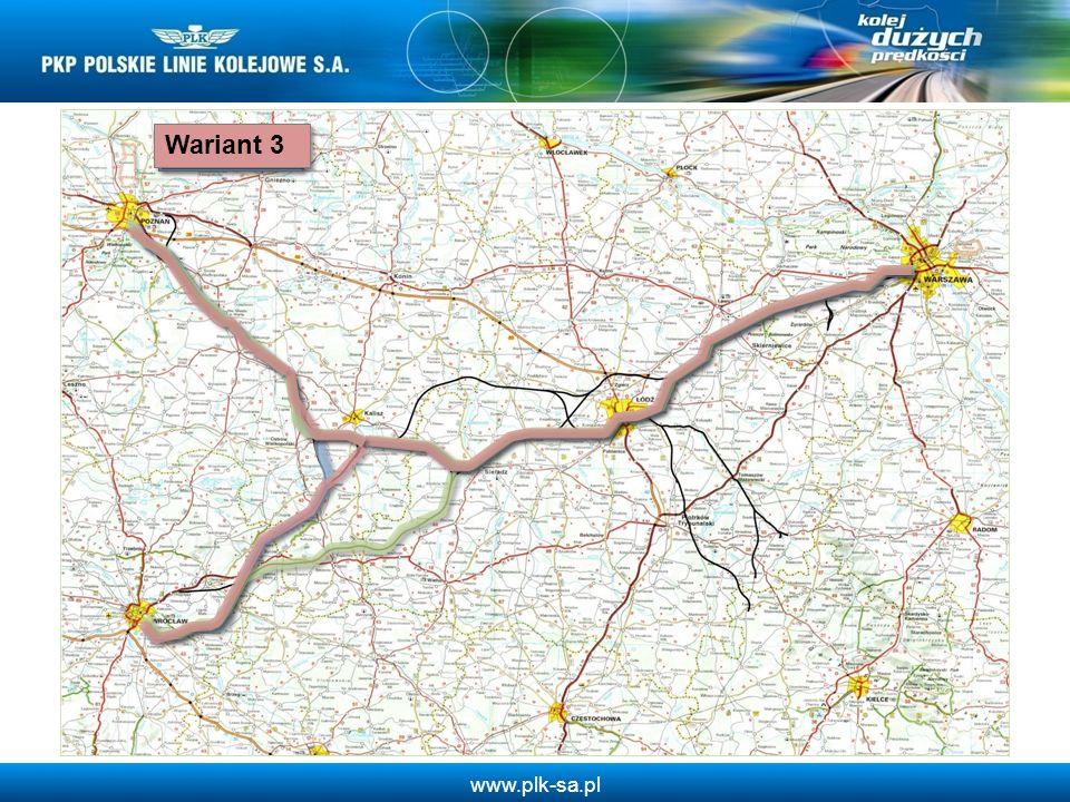 www.plk-sa.pl Planowane kierunki linii kolei dużych prędkości Polska, Czechy, Niemcy