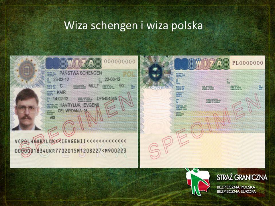 Wiza schengen i wiza polska