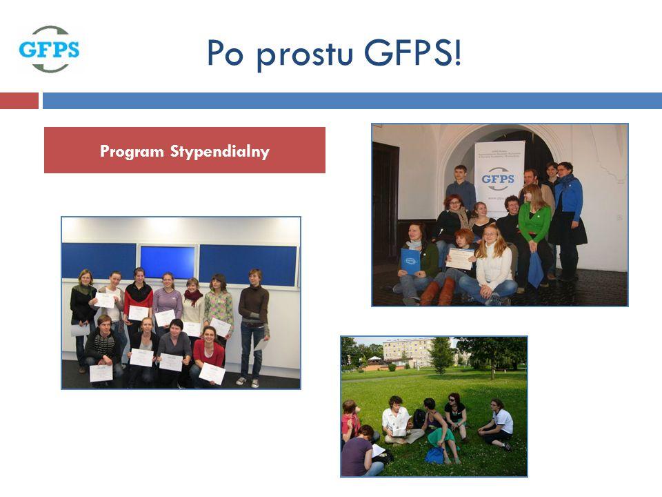 Program Stypendialny Po prostu GFPS!