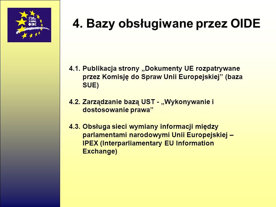 4.Bazy obsługiwane przez OIDE 4.1.
