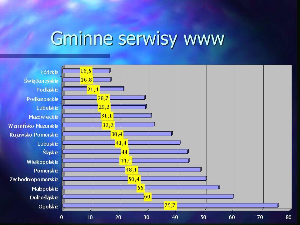 Gminne serwisy www