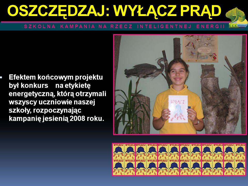 Uczniowie klas IV-VI w ramach szkolnej kampanii uczestniczyli w konkursie plastycznym.
