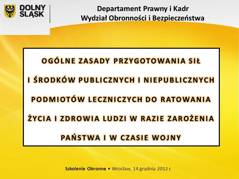 Szkolenie Obronne Wrocław, 14 grudnia 2012 r.