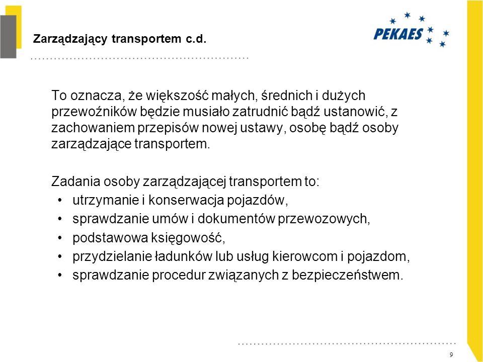 Ostatnie pytanie Polski ustawodawca proponuje okres przejściowy w formie dostosowania przedsiębiorstw do 4 grudnia 2012 roku.