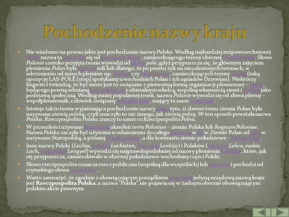 Początki państwa polskiego w średniowieczu Przypuszczalny zasięg państwa Mieszka I - Civitas Schinesghe i ziemie przyłączone przez tego władcęCivitas Schinesghe Polska za Bolesława ChrobregoBolesława Chrobrego Pierwszym szerzej udokumentowanym historycznie władcą Polski był Mieszko I (wcześniej kroniki wymieniają książęta Polan, z dynastii Piastów), który przyjął chrzest w 966 roku, co w konsekwencji wiązało się z rozpoczęciem zwalczania wierzeń etnicznych Słowian i procesem zapoczątkowanym przez tzw.
