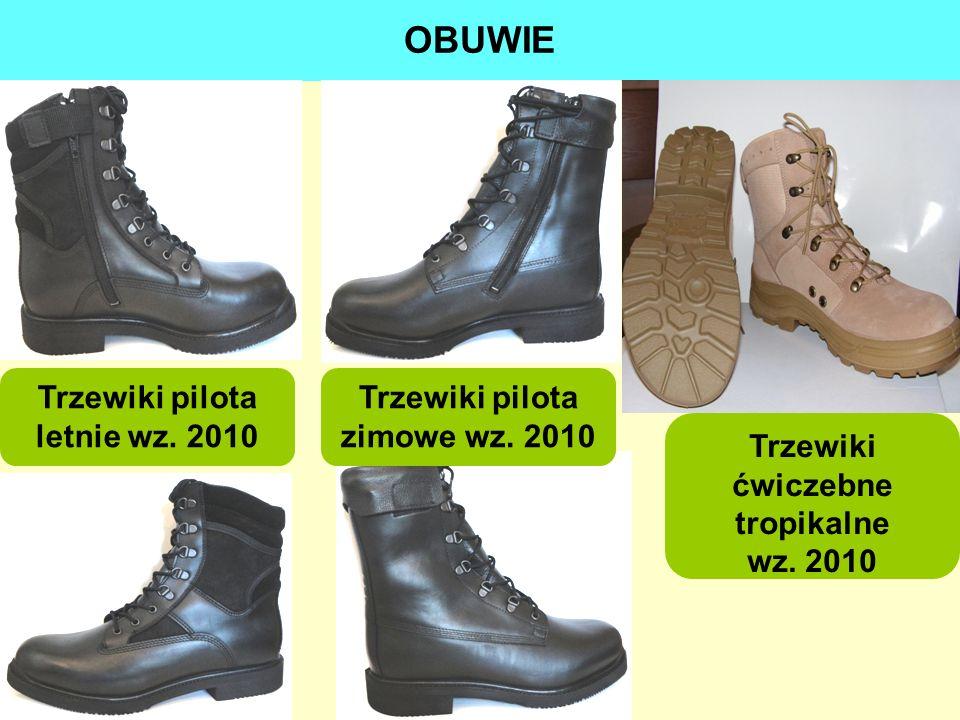 OBUWIE Trzewiki pilota letnie wz. 2010 Trzewiki pilota zimowe wz. 2010 Trzewiki ćwiczebne tropikalne wz. 2010