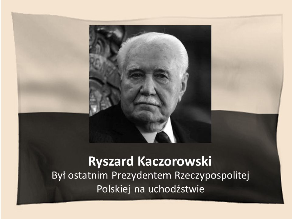 GEN. FRANCISZEK GĄGOR Był Szefem Sztabu Generalnego Wojska Polskiego