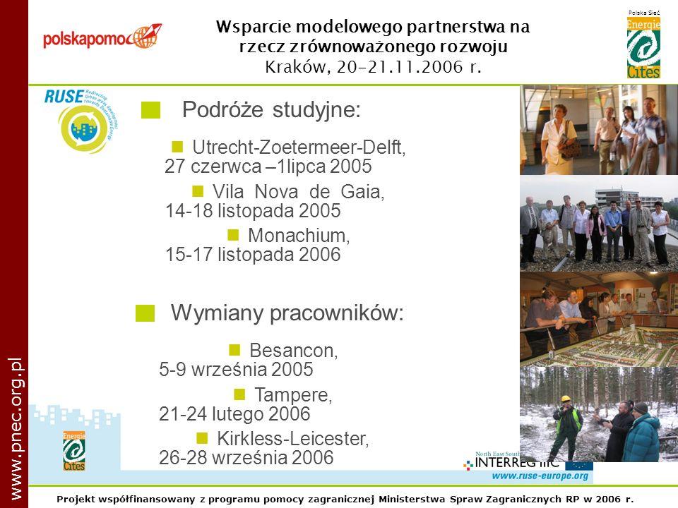 Projekt współfinansowany z programu pomocy zagranicznej Ministerstwa Spraw Zagranicznych RP w 2006 r.