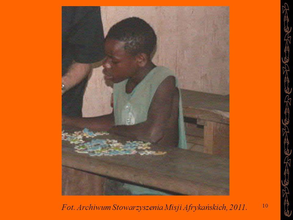 10 Fot. Archiwum Stowarzyszenia Misji Afrykańskich, 2011.