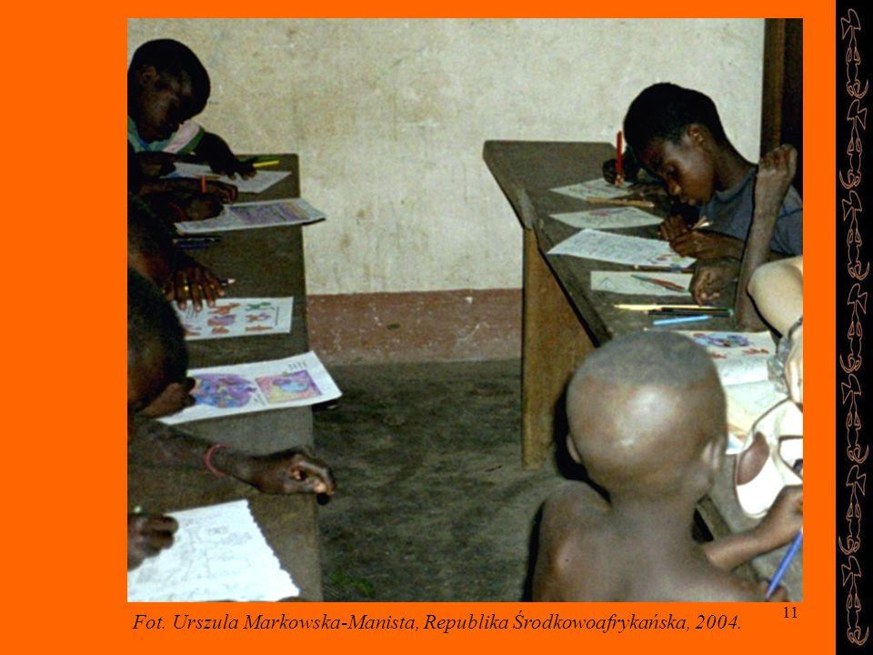11 Fot. Urszula Markowska-Manista, Republika Środkowoafrykańska, 2004.