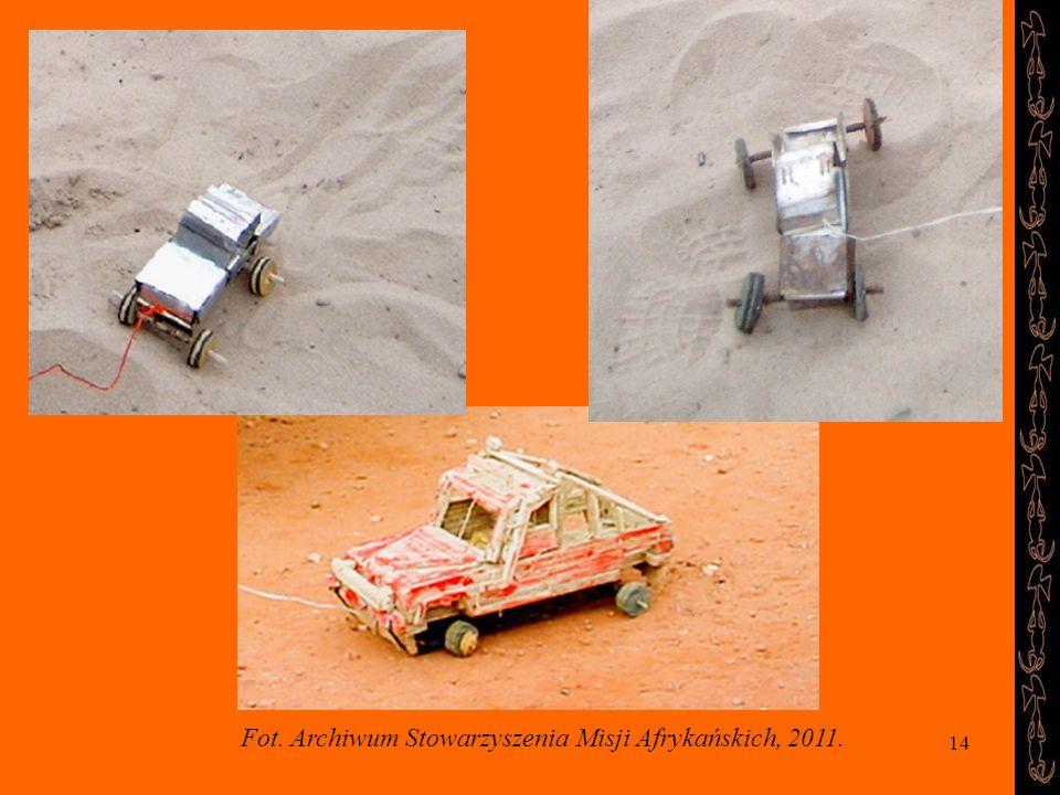 14 Fot. Archiwum Stowarzyszenia Misji Afrykańskich, 2011.