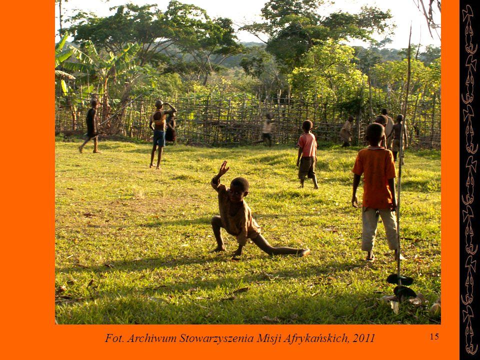 15 Fot. Archiwum Stowarzyszenia Misji Afrykańskich, 2011