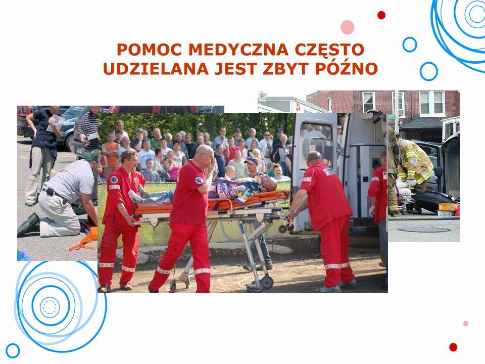 STATYSTYKI ROCZNE ZATRWAŻAJĄ!! tysiące ofiar wypadków drogowych i losowych Rocznie w Europie dochodzi aż do 700 000 zatrzymań krążenia u osób dorosłyc