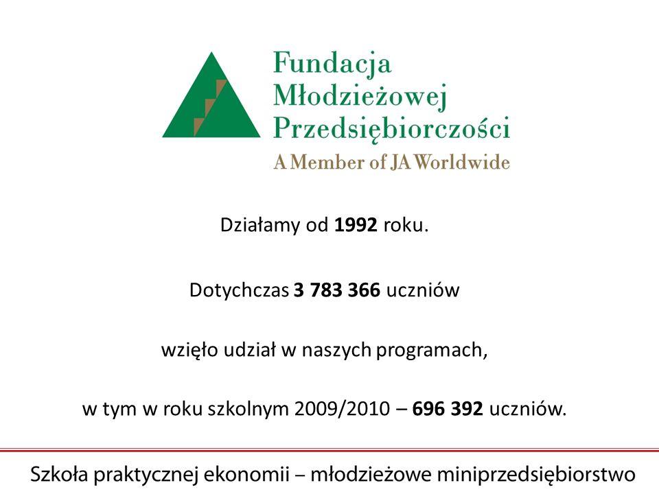 Działamy od 1992 roku.