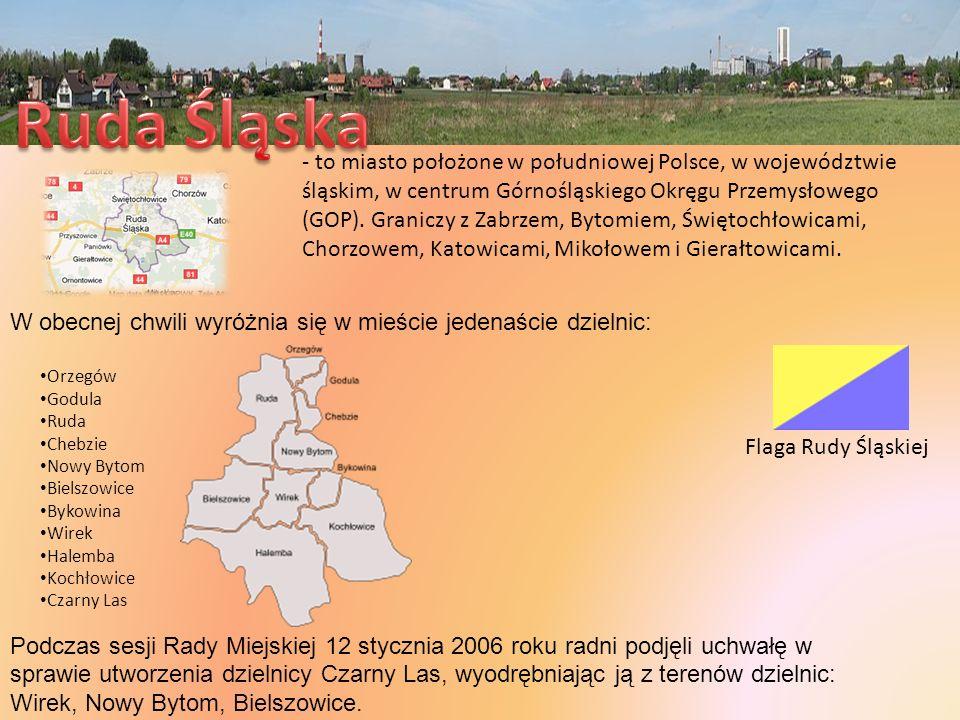 - to miasto położone w południowej Polsce, w województwie śląskim, w centrum Górnośląskiego Okręgu Przemysłowego (GOP). Graniczy z Zabrzem, Bytomiem,