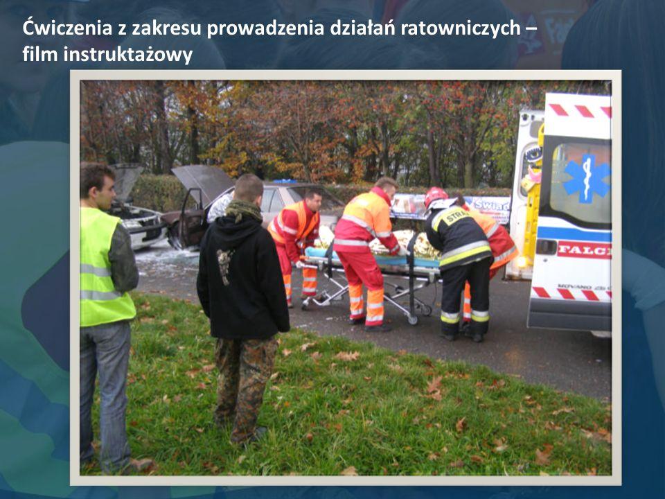 Ćwiczenia z zakresu prowadzenia działań ratowniczych – film instruktażowy