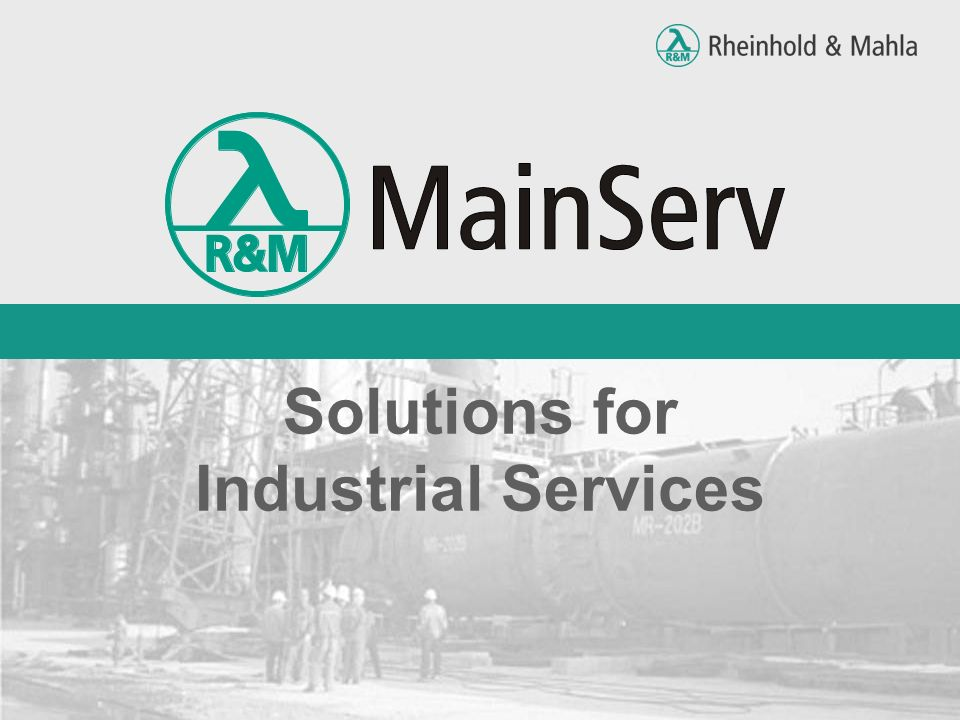 Solutions for Industrial Services