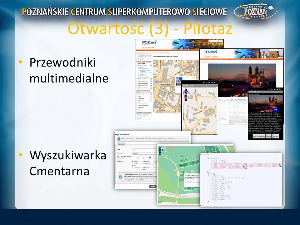 Otwartość (3) - Pilotaż Przewodniki multimedialne Wyszukiwarka Cmentarna