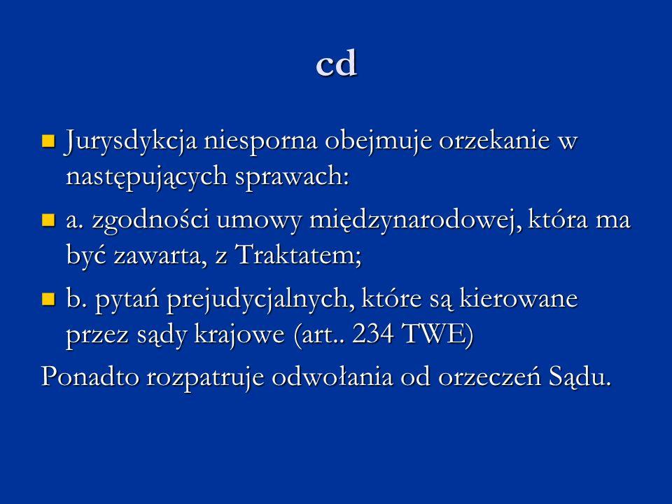 cd Jurysdykcja niesporna obejmuje orzekanie w następujących sprawach: Jurysdykcja niesporna obejmuje orzekanie w następujących sprawach: a. zgodności