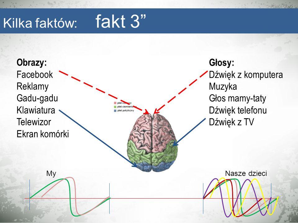 Obrazy: Facebook Reklamy Gadu-gadu Klawiatura Telewizor Ekran komórki Głosy: Dźwięk z komputera Muzyka Głos mamy-taty Dźwięk telefonu Dźwięk z TV MyNa