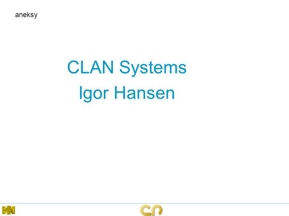 aneksy CLAN Systems Igor Hansen