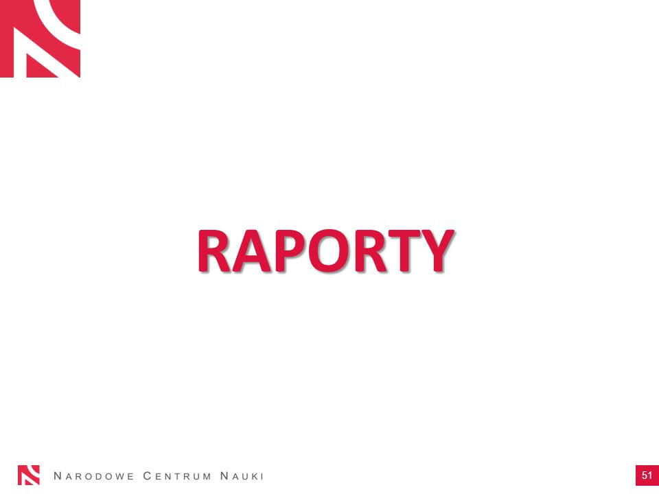 RAPORTY 51