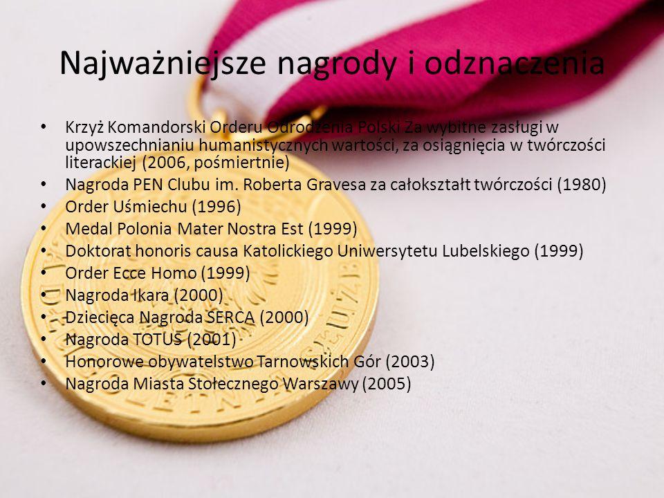 POŻEGNANIE Wieczorem 18 stycznia 2006r.Ksiądz Twardowski zmarł w warszawskim szpitalu przy ul.