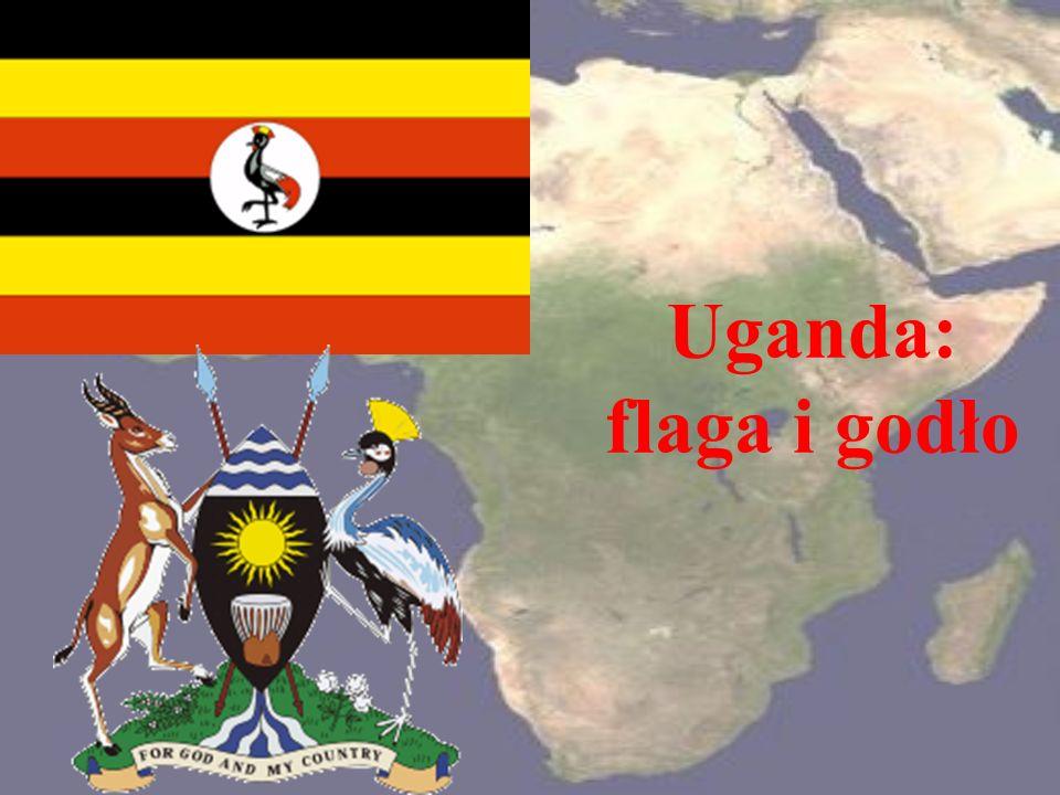 Uganda: flaga i godło
