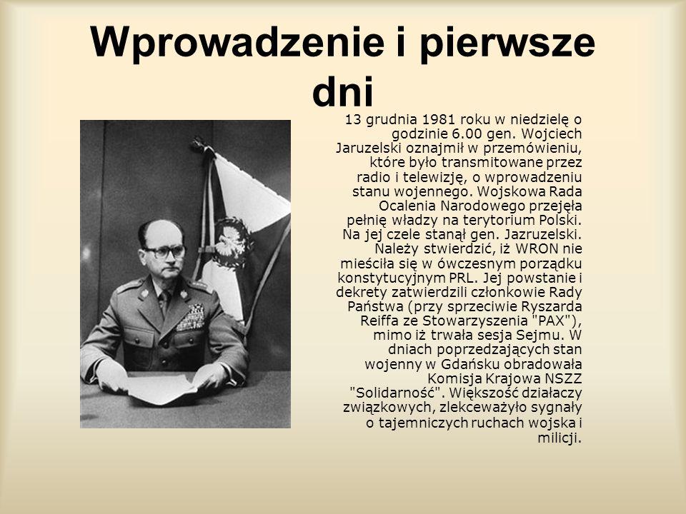 Stan wojenny Wykonały: Julia Zychowicz i Karolina Dyjas kl. 1b