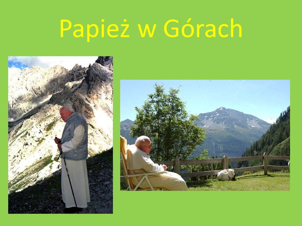 Papież w Górach