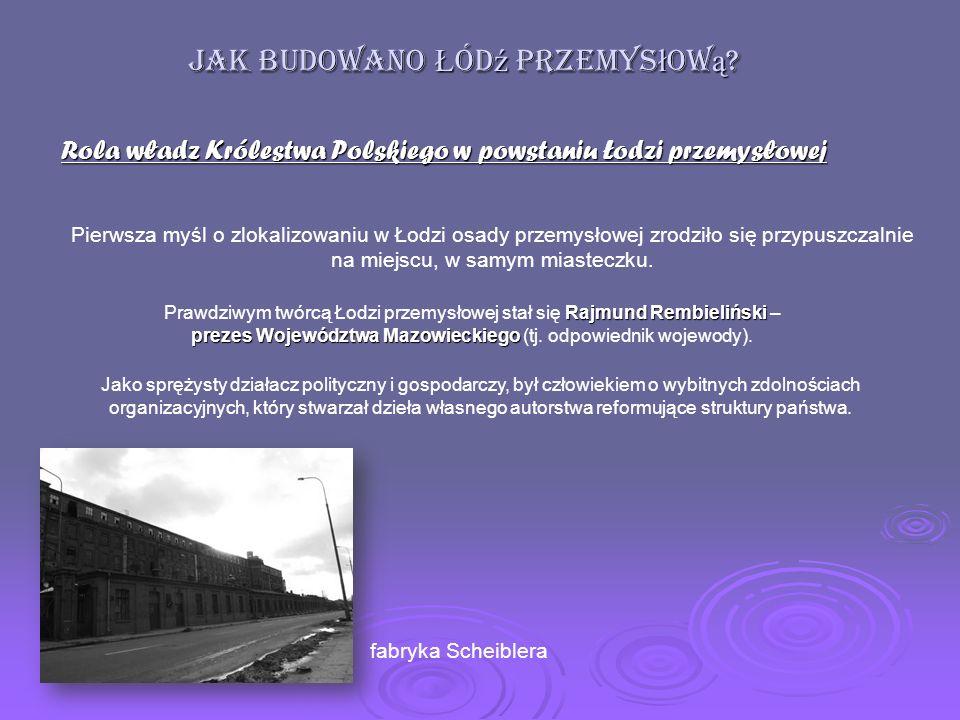 budynek mieszkalny Księży Młyn fabryka I.Poznańskiego