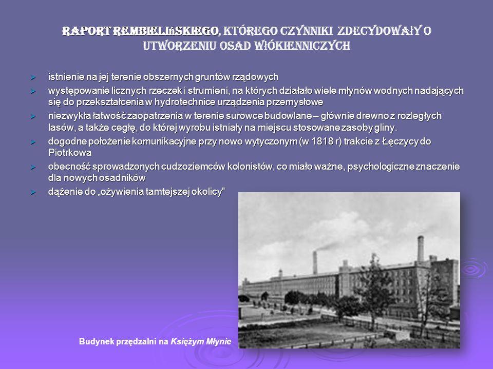 marszałka Sejmu Królestwa Rembieliński wyróżniał się zapewne niepospolitymi zdolnościami i zasługami, skoro w 1820r. powierzono mu godność marszałka S