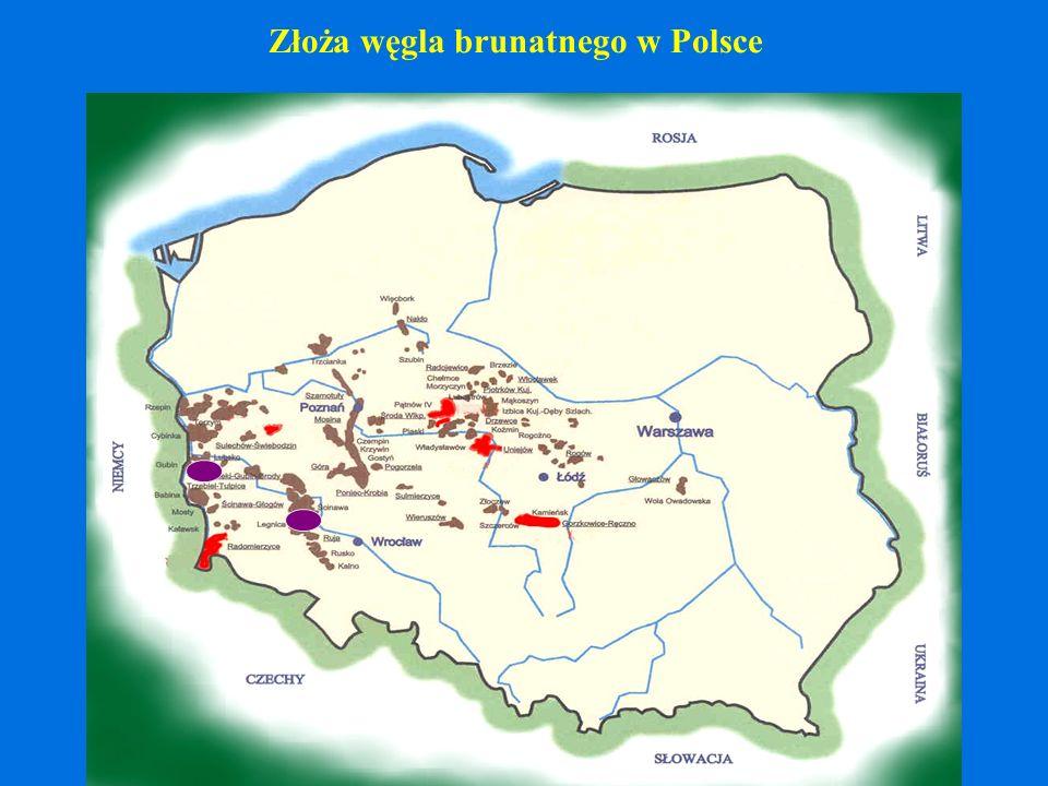 Złoża węgla brunatnego w Polsce