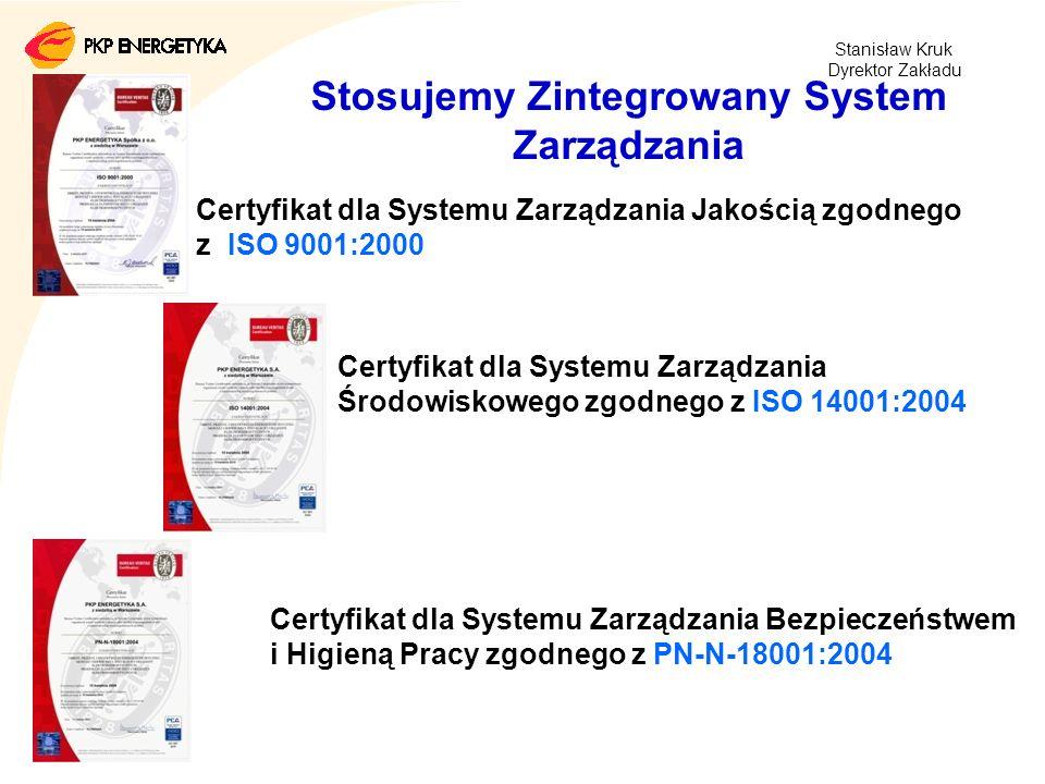 27 stycznia 2014/ 10 Stosujemy Zintegrowany System Zarządzania Certyfikat dla Systemu Zarządzania Jakością zgodnego z ISO 9001:2000 Certyfikat dla Sys