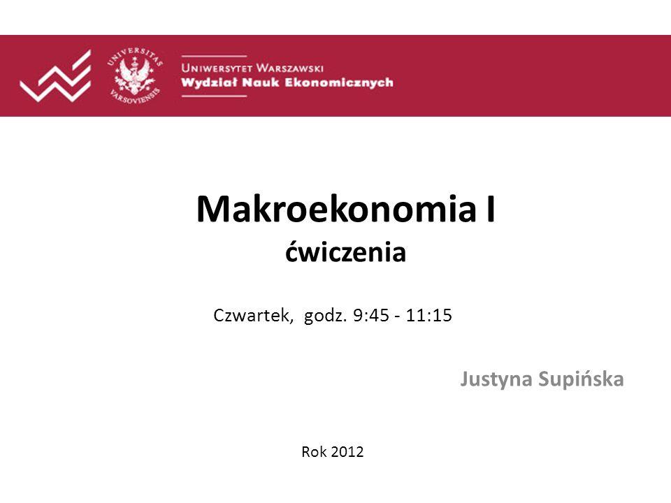 Ekonomia Podział na: Mikro i makroekonomię - czym zajmuje się mikro już wiecie A o czym jest Makro?.
