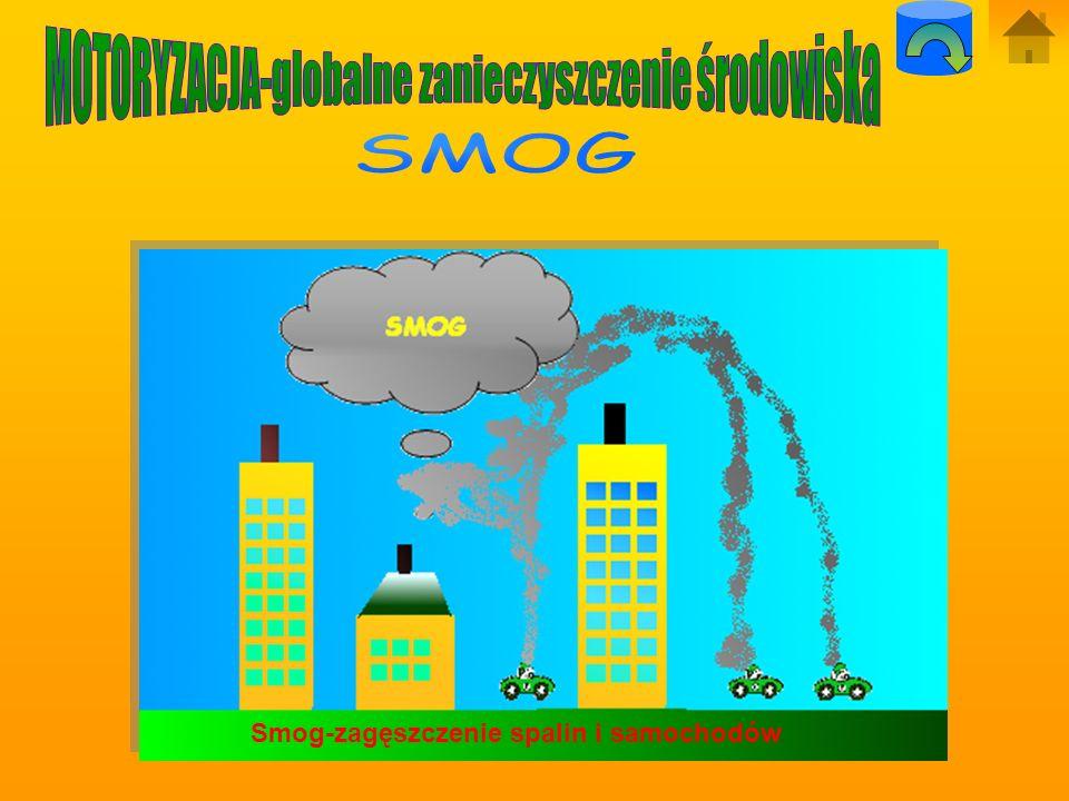 a)Ludzie W rejonach, gdzie środowisko naturalne jest silnie skażone, wdychamy mieszaninę gazów takich jak dwutlenek siarki i tlenki azotu, które szkod