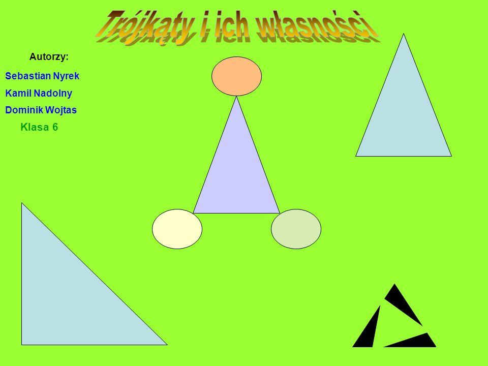 Co to jest trójkąt Równoboczny Równoramienny Różnoboczny Prostokątny Ostrokątny Rozwartokątny Suma miar kątów w trójkącie Zagadki o trójkątach Wierszyki o trójkątach Zagadki dotyczące trójkątów Podział trójkątów ze względu na boki Podział trójkątów ze względu na kąty