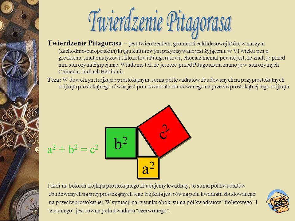 I cecha przystawania trójkątów (bbb) Jeżeli trzy boki jednego trójkąta są odpowiednio równe trzem bokom drugiego trójkąta, to trójkąty są przystające.