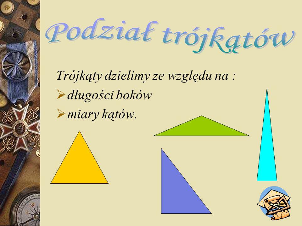 http://mi.kn.bielsko.pl/~mi00akus/trojkaty/rodzaje.html http://pl.wikipedia.org/wiki/Tr%C3%B3jk%C4%85t http://www.interklasa.pl/portal/dokumenty/geom6/geometria6/prez entacja/trojkaty1e.htm http://pl.wikipedia.org/wiki/Twierdzenie_Pitagorasa Podręcznik dla III klasy gimnazjum-Wydawnictwo szkolne PWN