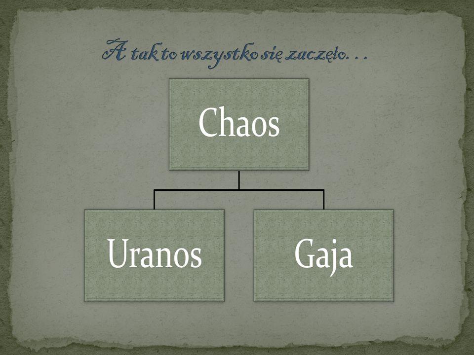 Kronos + Reja -Zeus -Posejdon -Hades -Hera -Demeter -Hestia Tytani Sturęcy Cyklopi Giganci