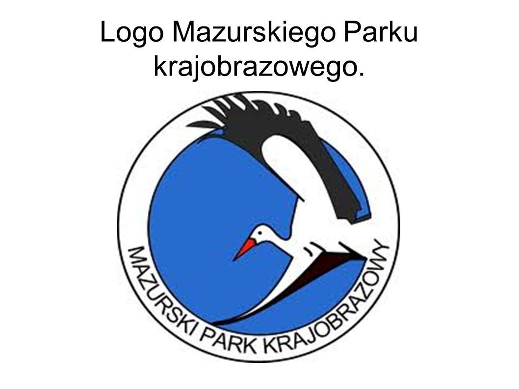 Logo Mazurskiego Parku krajobrazowego.