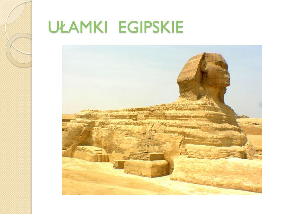 UŁAMKI EGIPSKIE