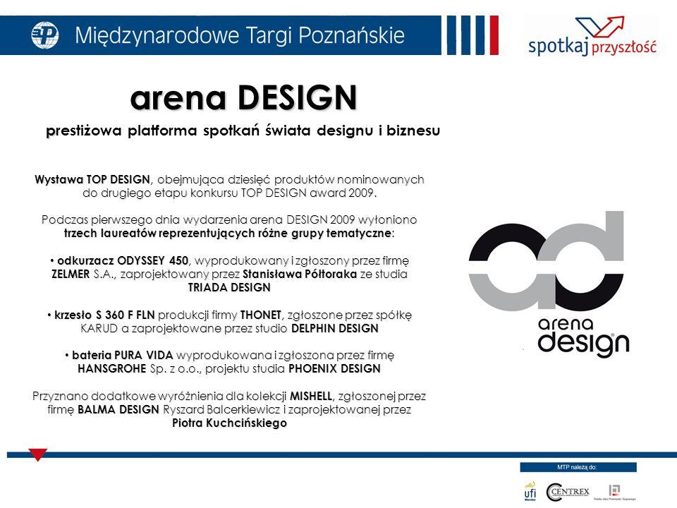 Wystawa TOP DESIGN, obejmująca dziesięć produktów nominowanych do drugiego etapu konkursu TOP DESIGN award 2009.