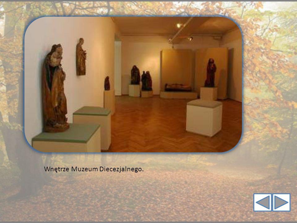 Wnętrze Muzeum Diecezjalnego.