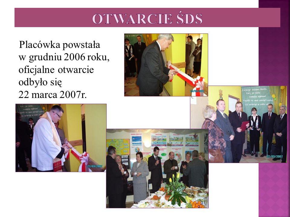 Placówka powstała w grudniu 2006 roku, oficjalne otwarcie odbyło się 22 marca 2007r.