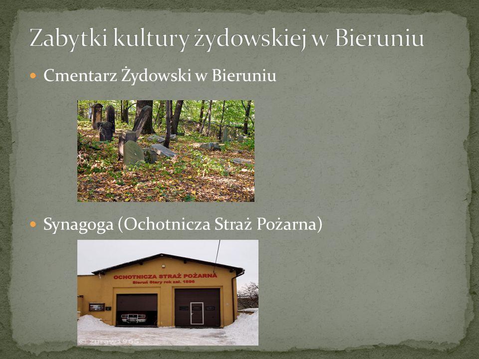 Cmentarz żydowski w Bieruniu Starym został założony w 1778 roku przy ul.
