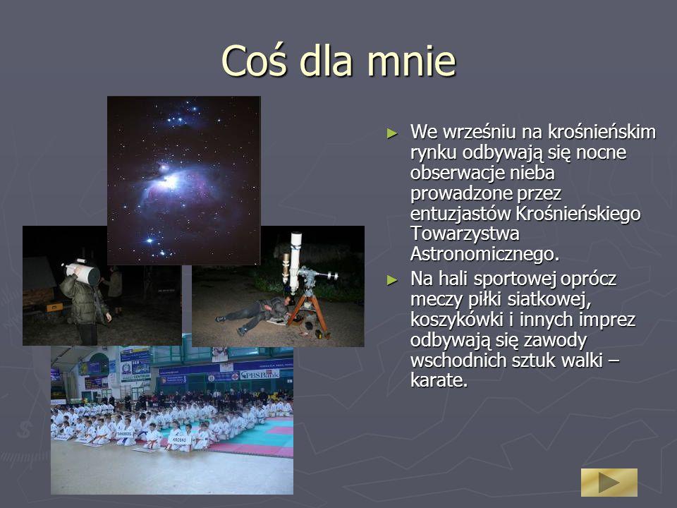 Coś dla mnie We wrześniu na krośnieńskim rynku odbywają się nocne obserwacje nieba prowadzone przez entuzjastów Krośnieńskiego Towarzystwa Astronomicznego.